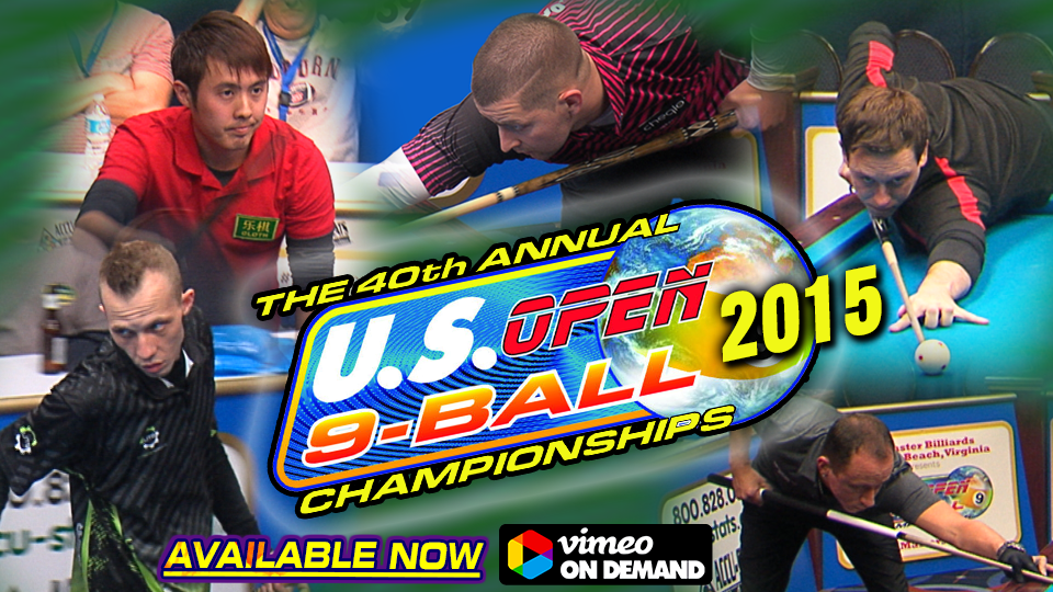 40th US OPEN 9-BALL CHAMPIONSHIPS (2015)